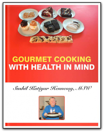 Book cover for Gourmet Cooking with Health in Mind