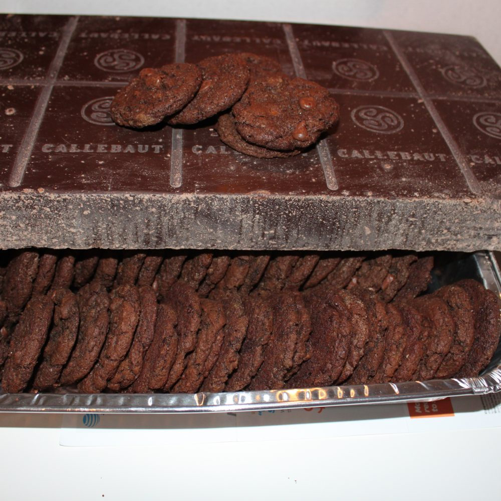 Chocolate Chips Chocolate Cookies