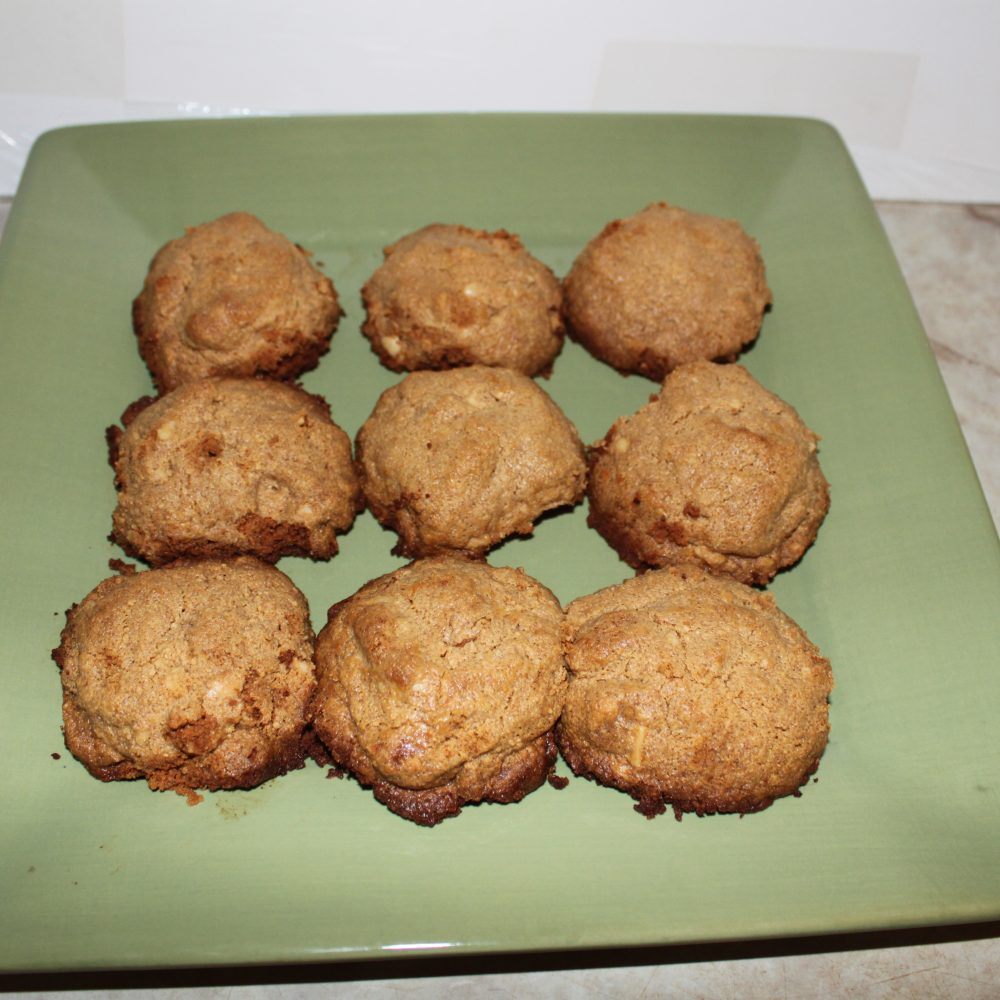 Jumbo Peanut Butter Cookies with Peanut Butter Morsels