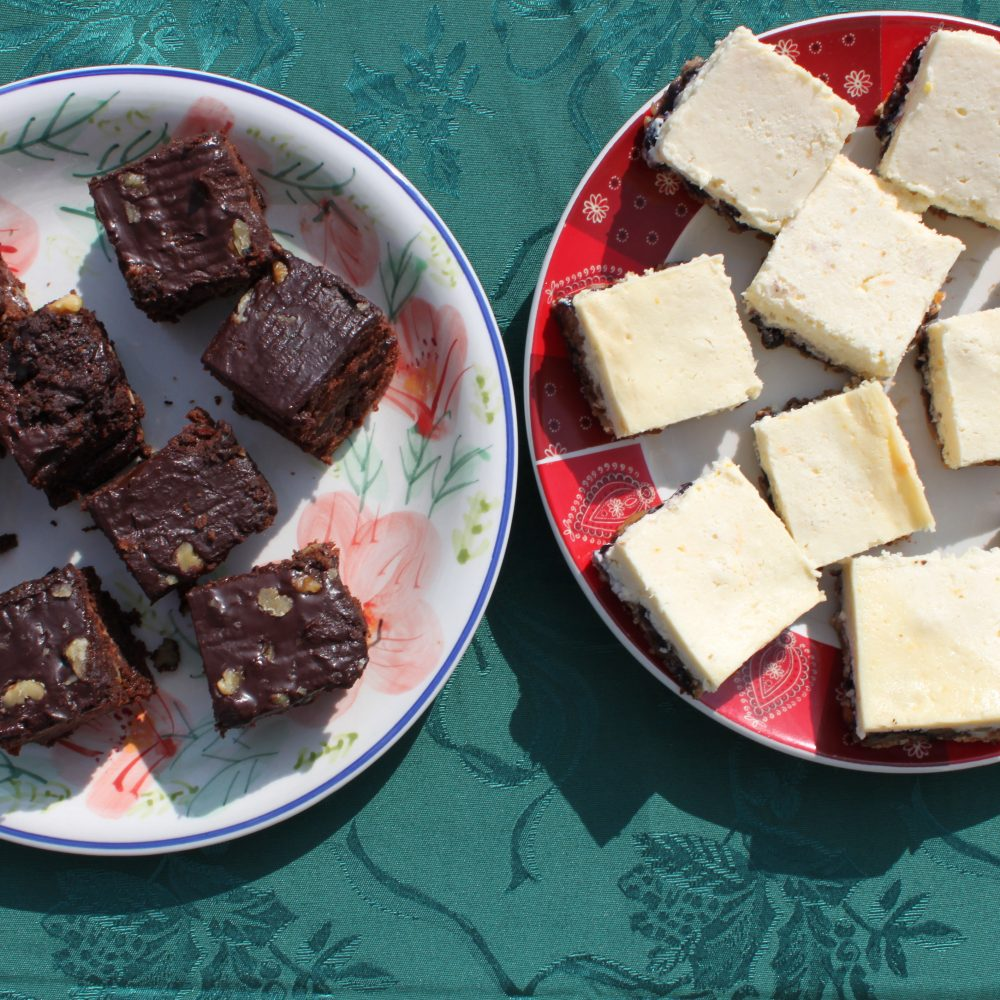 Dark Chocolate Squares with Pineapple